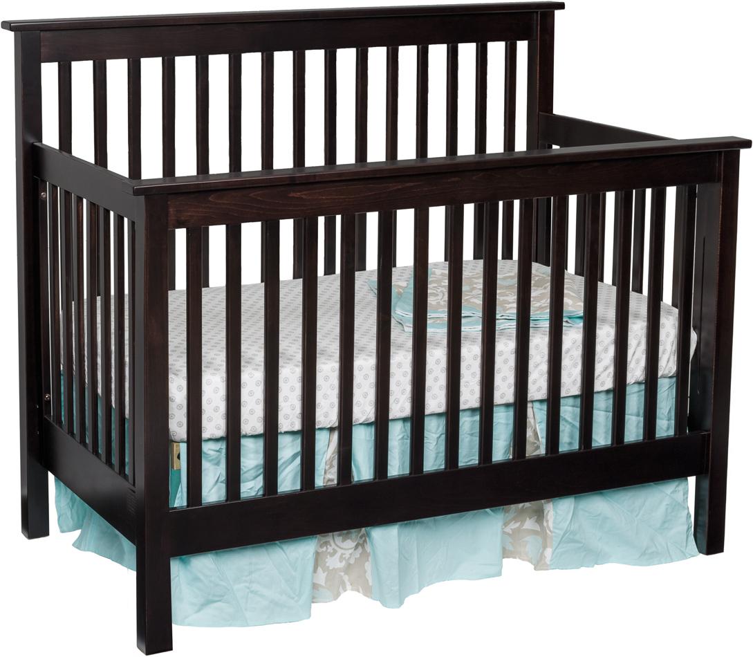 Mission Economy Slat Crib