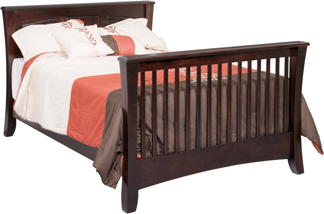 Carlisle Panel Crib - Converted to a Full Size Bed