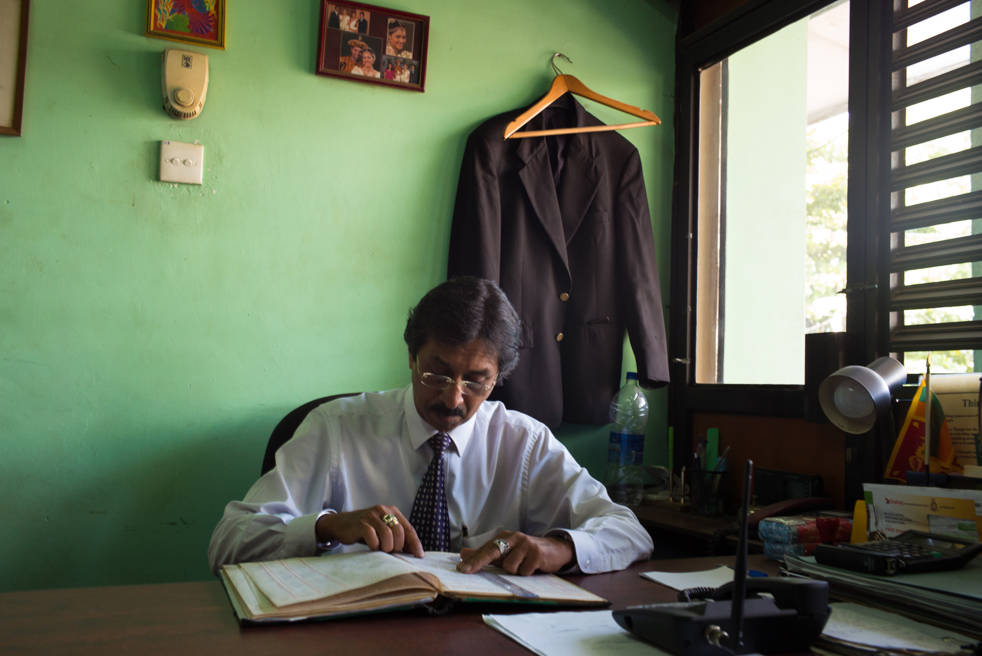 Lawyer's office, Kurunegala, North Western Province