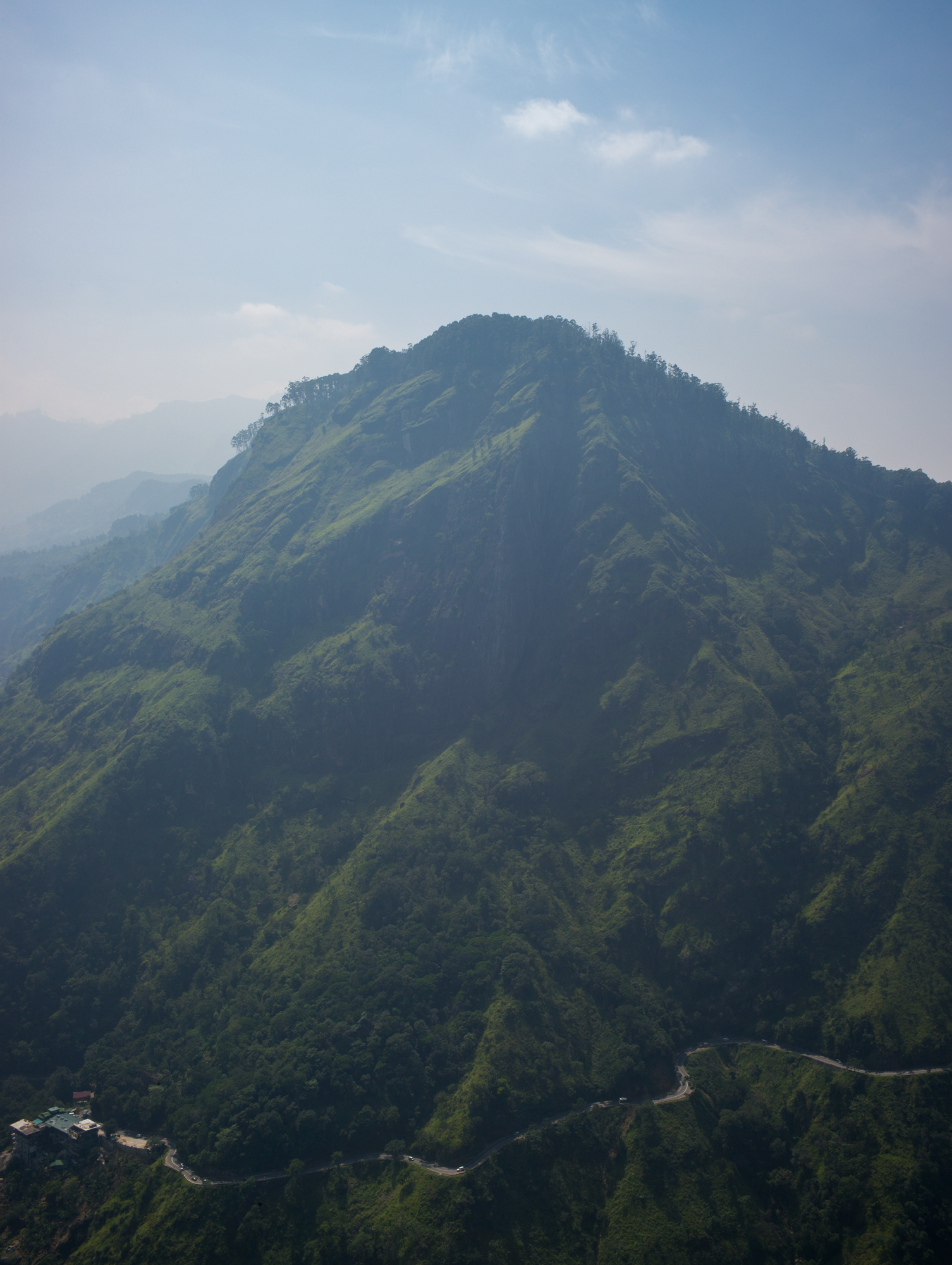 View from Little Adam's Peak, Hill Country, Uva Province
