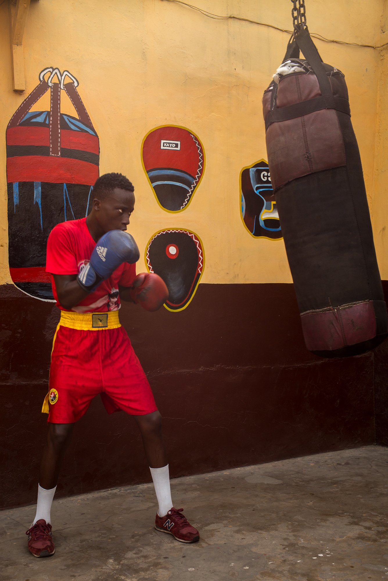 Samuel Takgi, 17 - Black Bombers National Team.  8 years of boxing: 6 Fights / 6 Victories