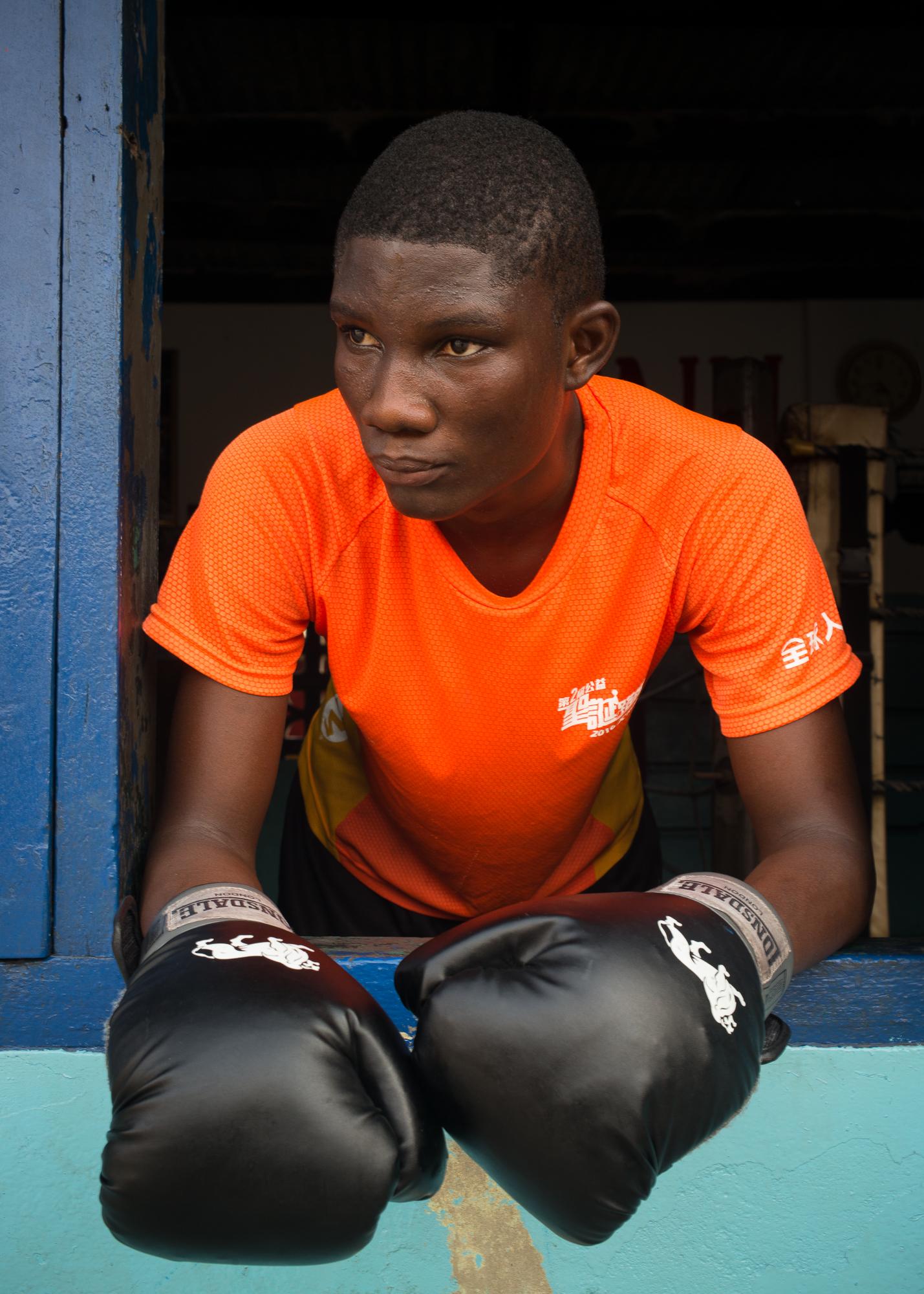 Precious, 18, Accra 2019