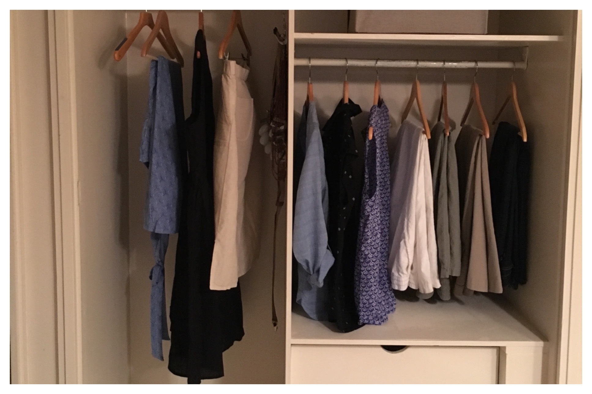 My new ten item capsule wardrobe for July - December, 2016