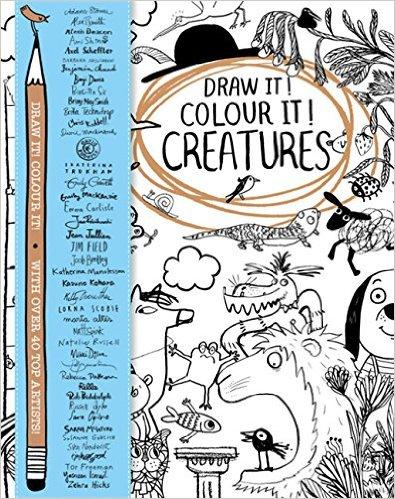Draw it! Colour it! Creatures   Macmillan Children's Books