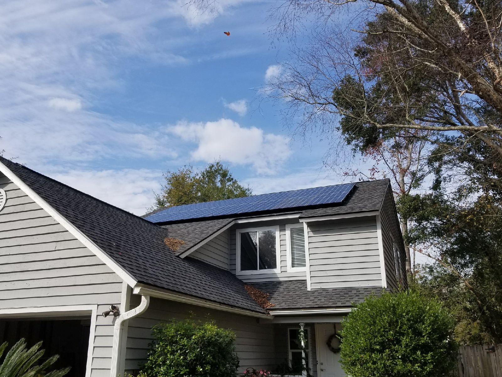 Solar Installation Mt. Pleasant, SC