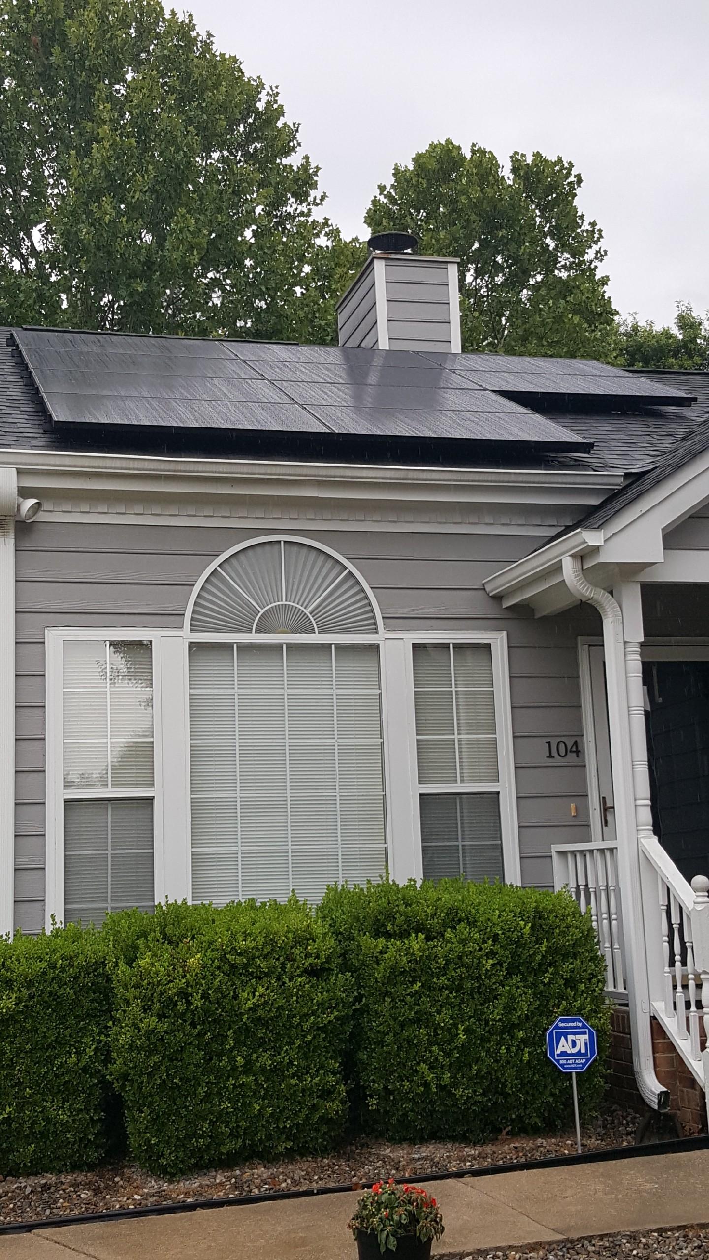 Solar Installation in N. Charleston, SC