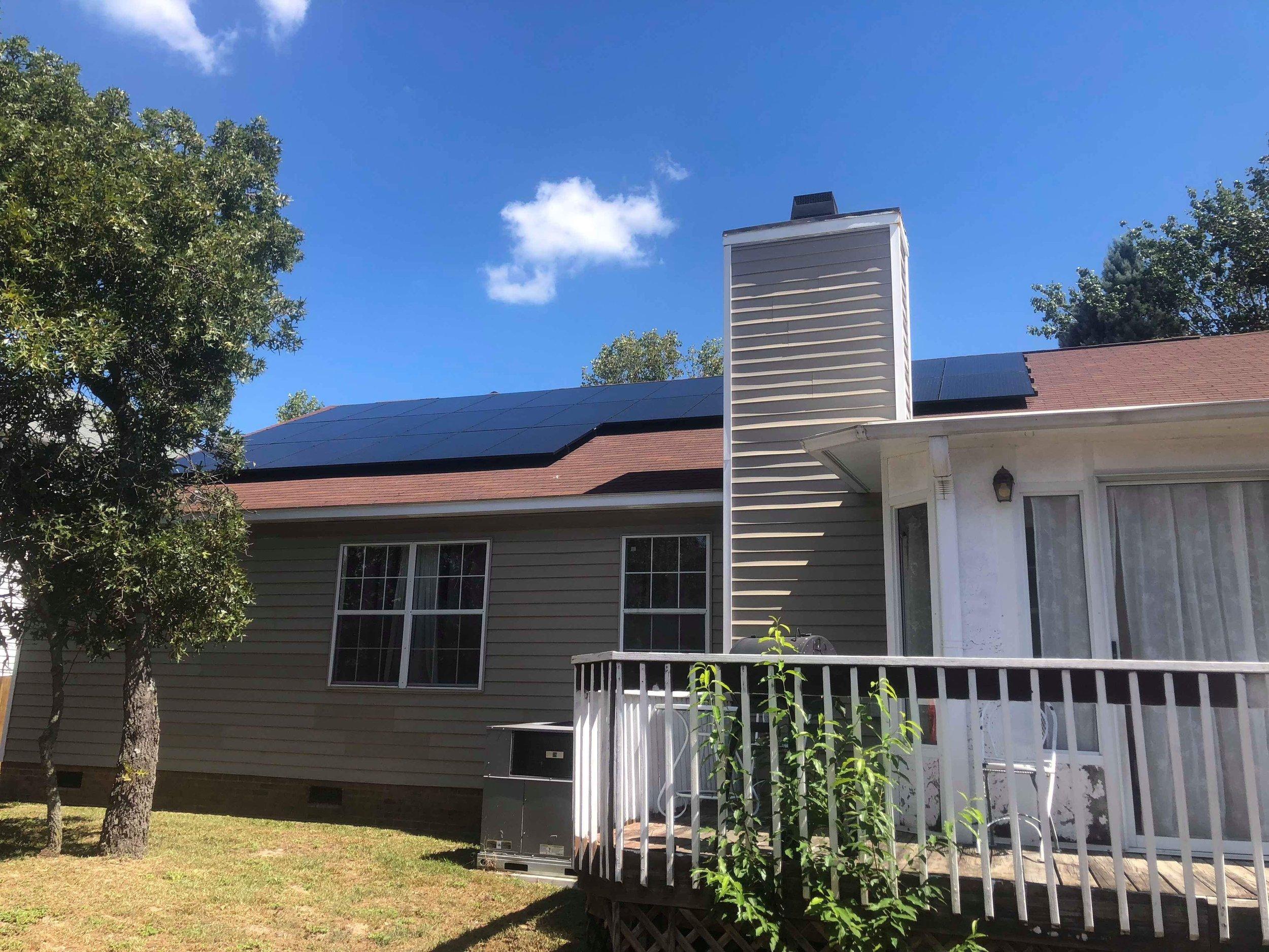 Solar Installation in Charleston, SC