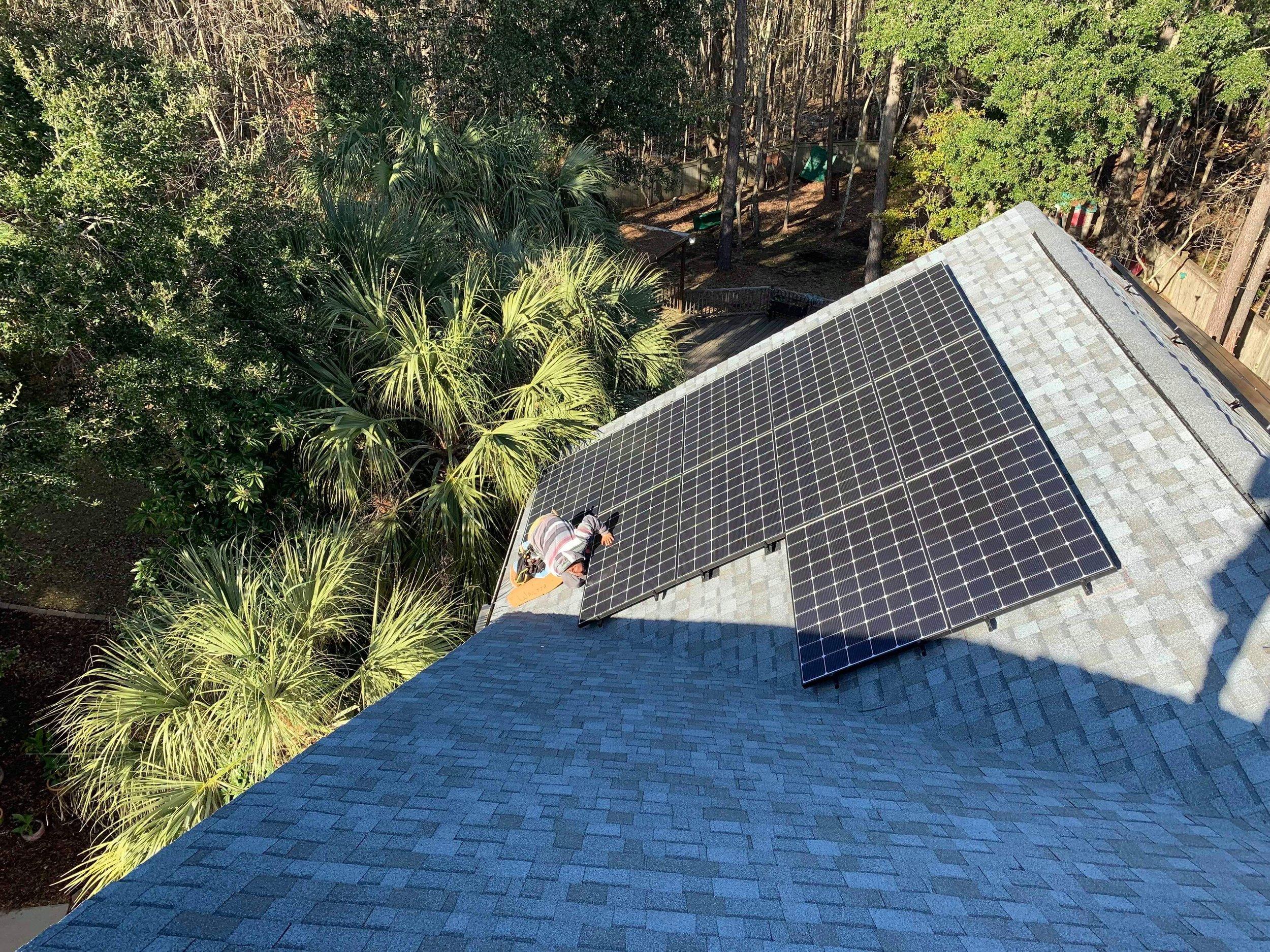 Mt. Pleasant, South Carolina solar installation