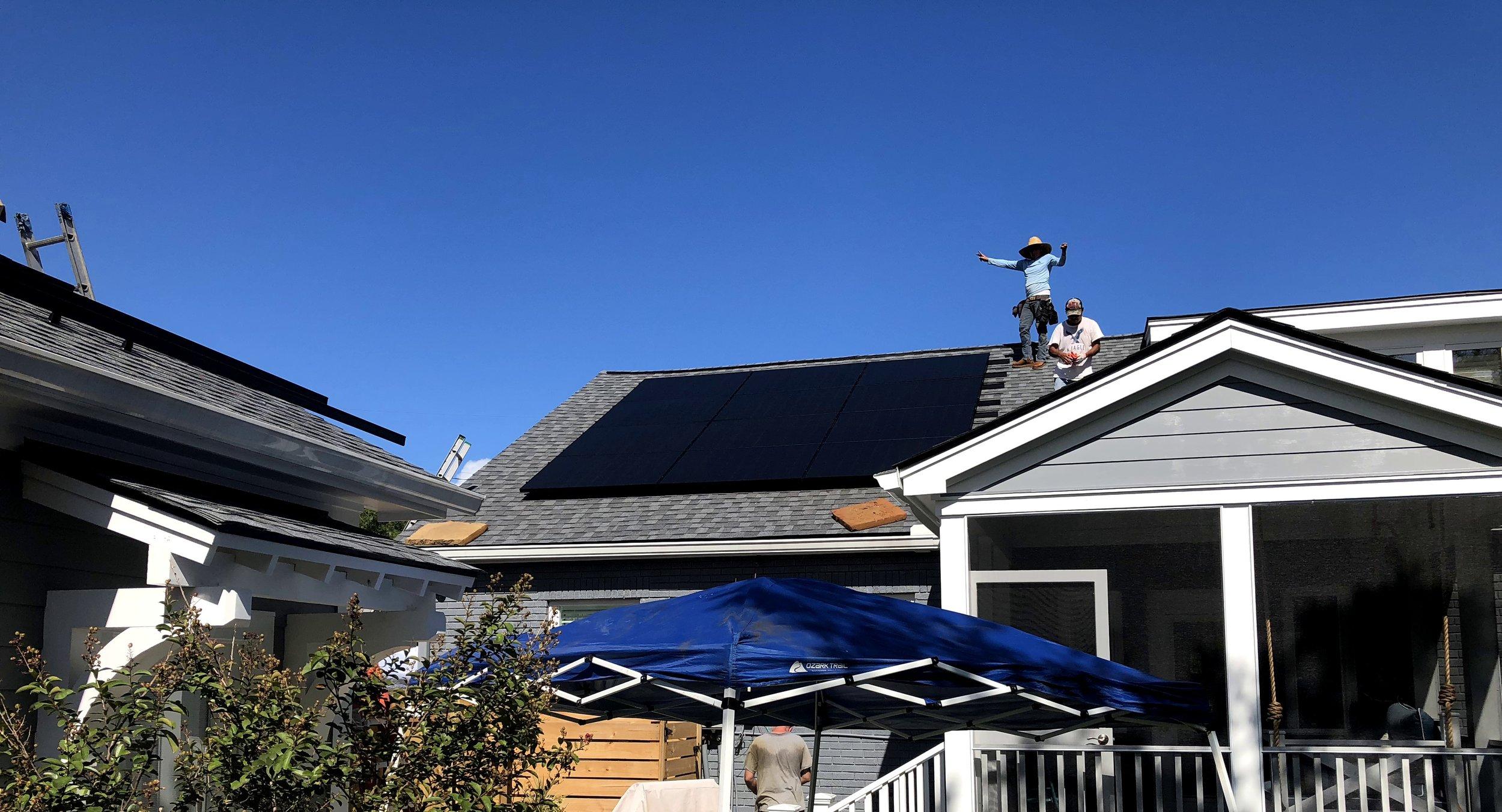 Solar Installation in the City of  Charleston