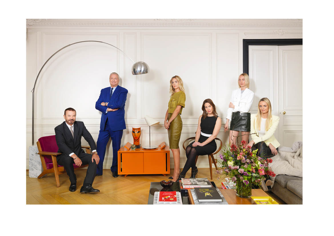 Clarins Courtin family portrait   The Sunday Times