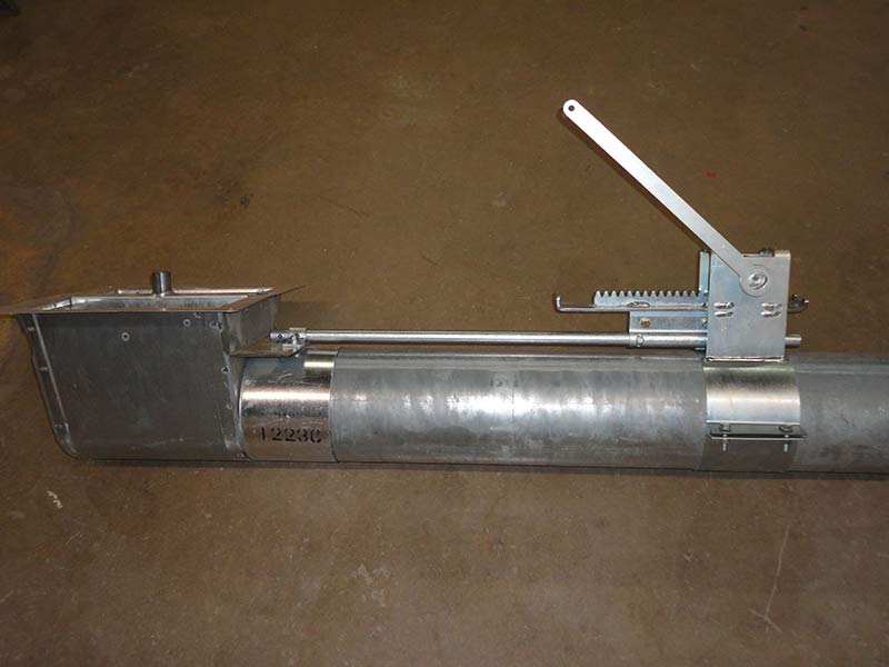 Rack and Pinion Opener