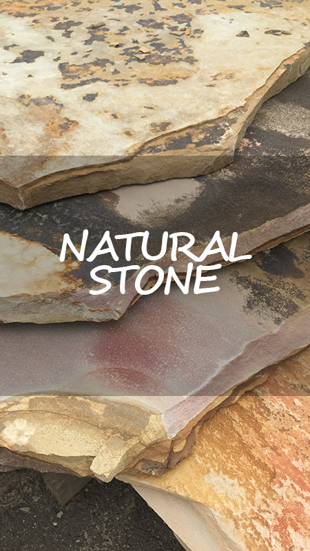 natural stone for landscaping