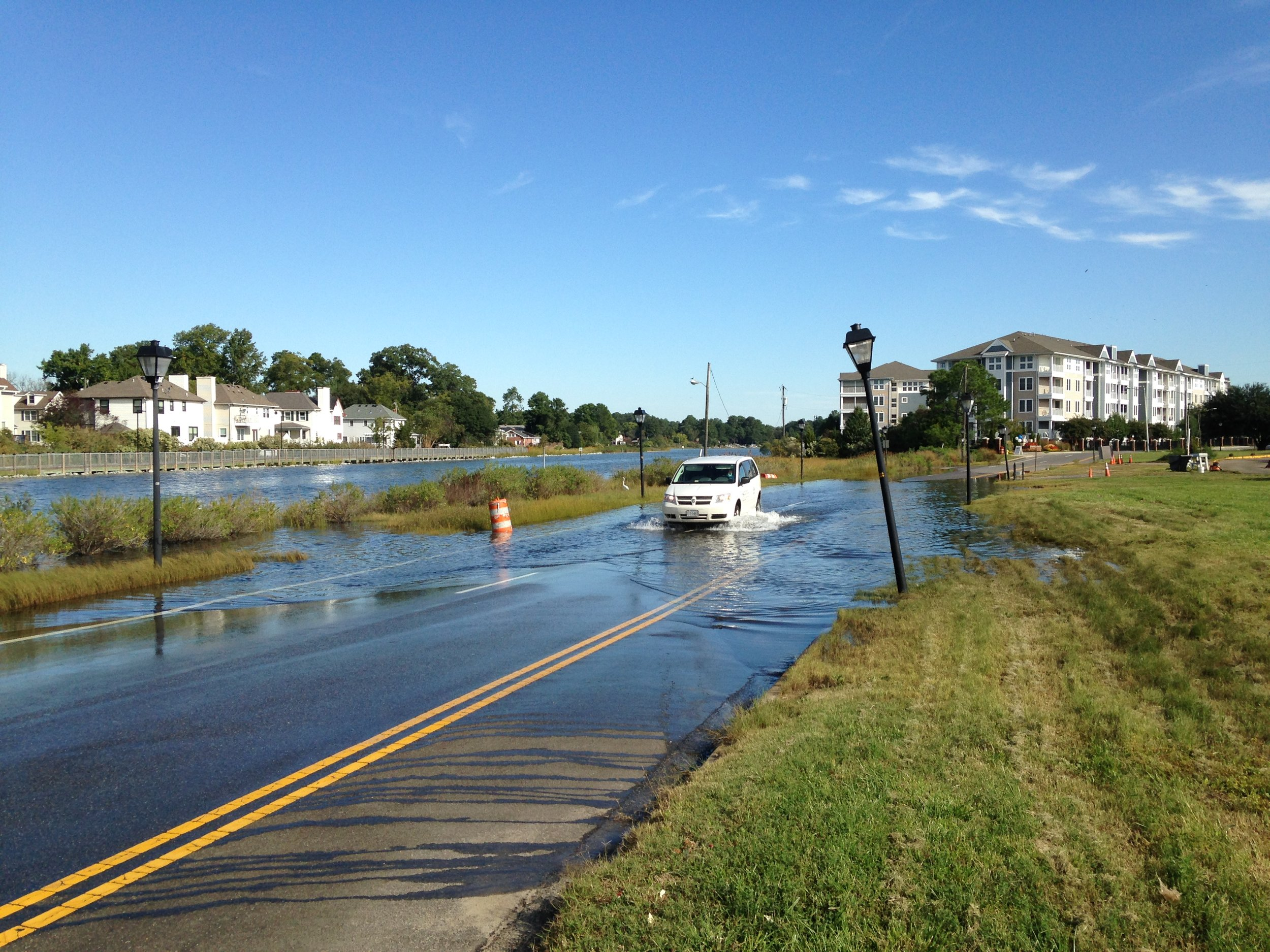 In Coastal Virginia, more than 1,500 miles of roadway could be inundated with 1.5 feet of sea level rise and a 3 foot storm surge  - VIMS 2013 Recurrent Flooding Study