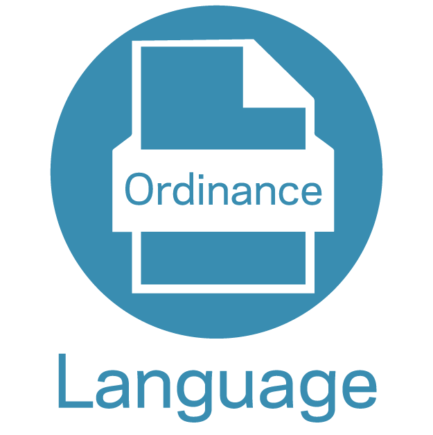 Ordinance Language