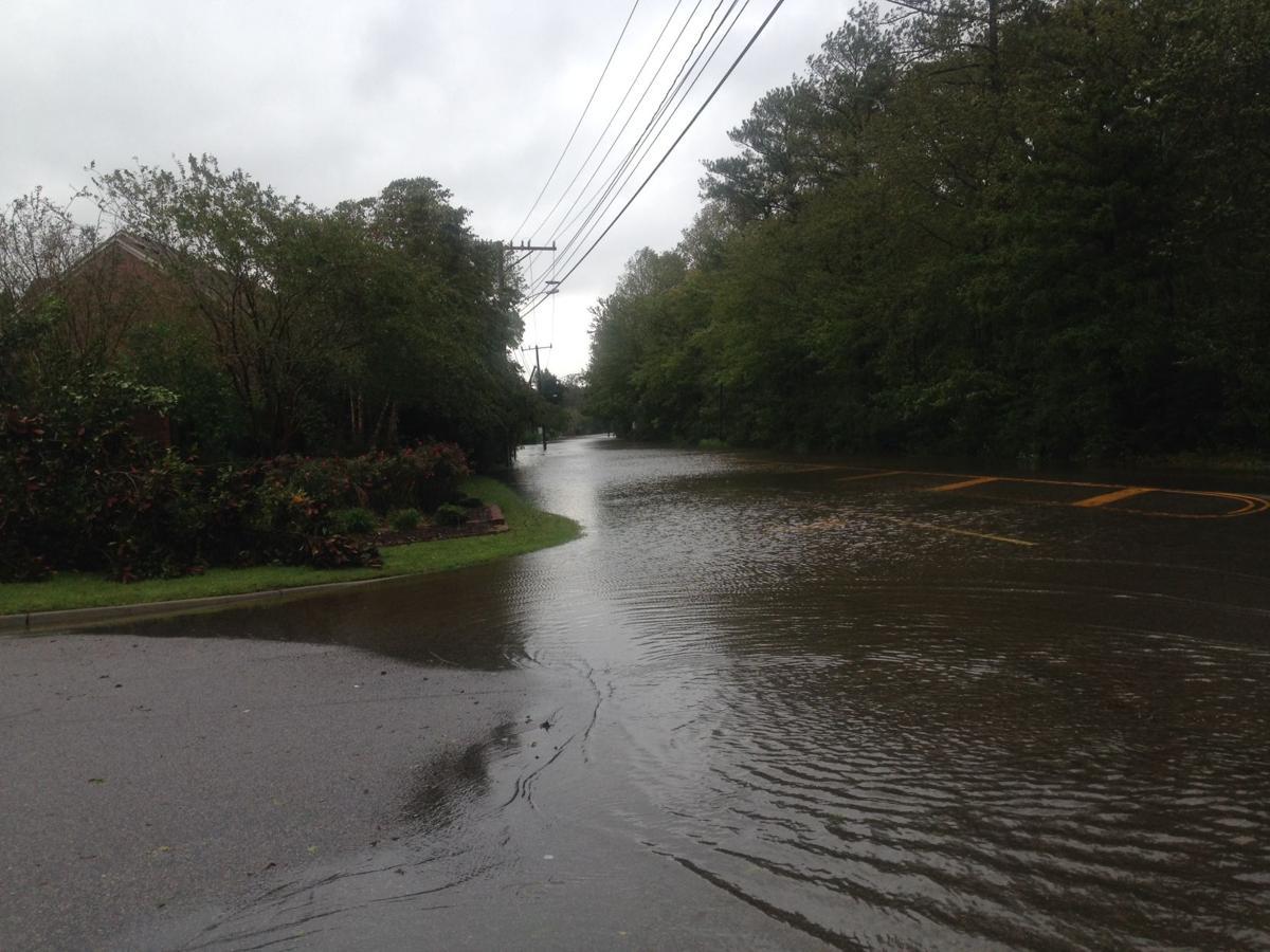 Road Near Proposed Development - Virginian Pilot/Ron Stubbins photo