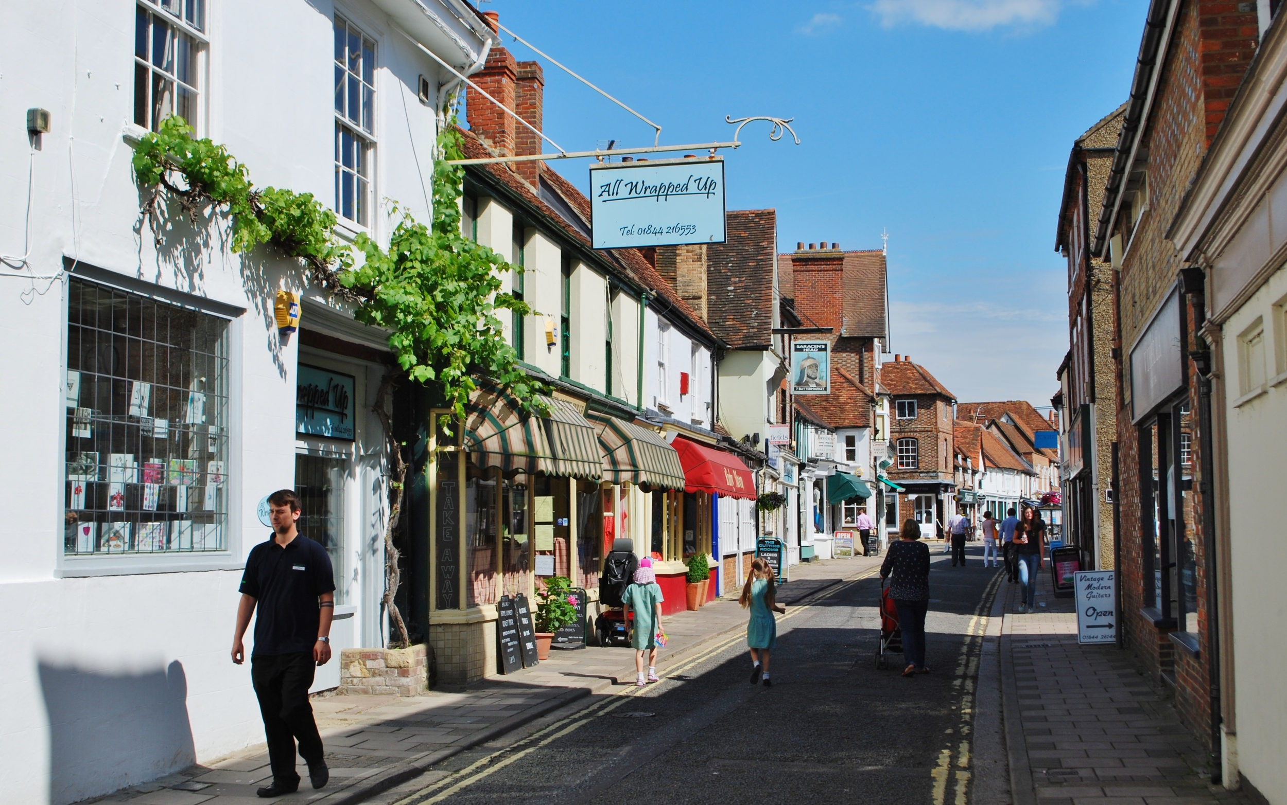 The market town of Thame