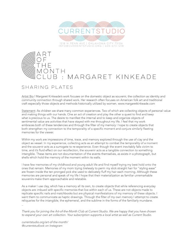 art of the month artist sheet - margaret kinkeade.jpg