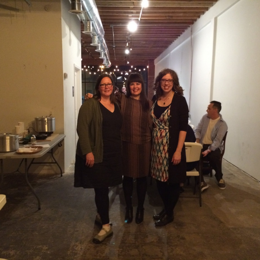 WITH OUR FIRST ARTIST IN RESIDENCE, NICOLE EMMONS-WILLIS