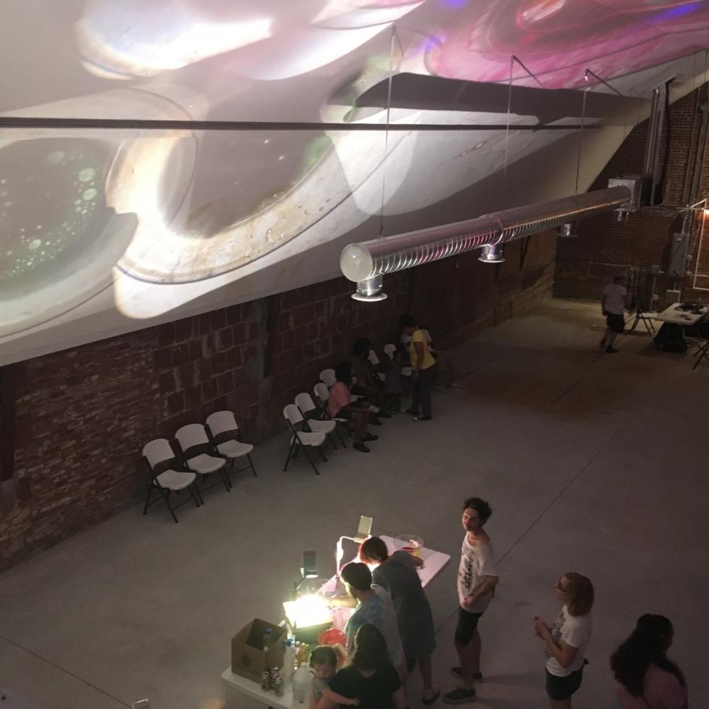 SUMMER BLOCK PARTY - INTERACTIVE LIQUID LIGHT STATION