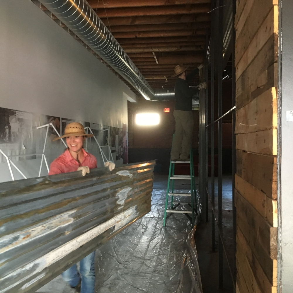 CLEANING UP THE CO-OP SPACE