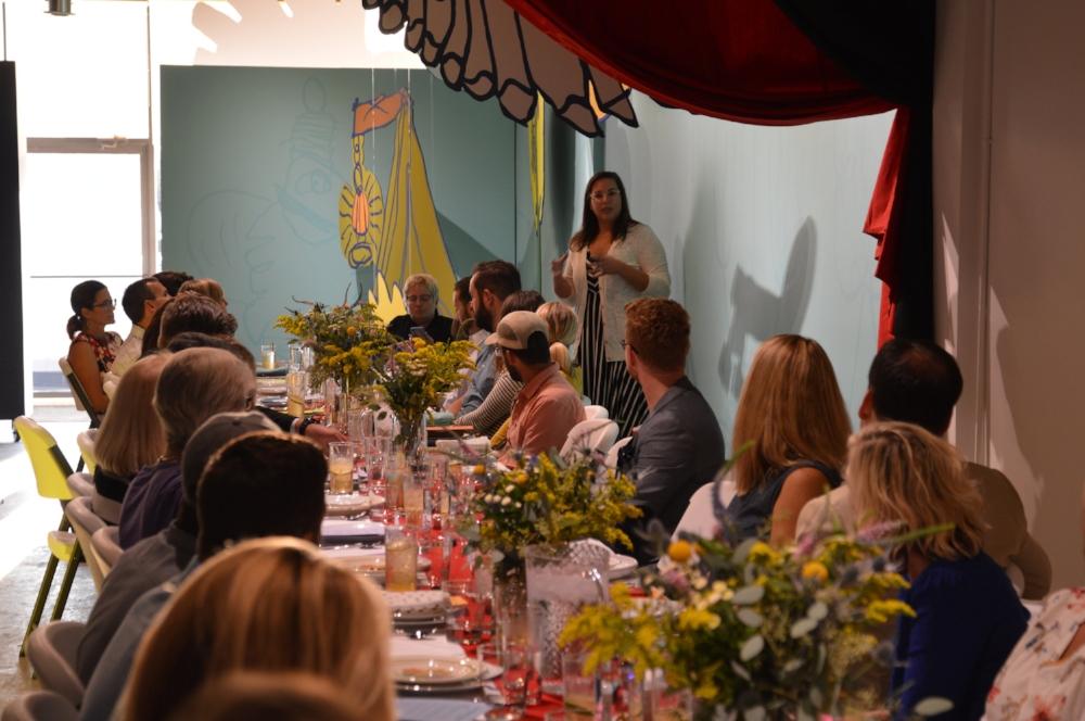 ARTIST + CHEF DINNER CELEBRATING ERIN SHAW AS ARTIST-IN-RESIDENCE