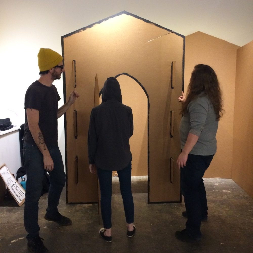 EVOLVE PROCESS PHOTO - CONFESSIONAL BY THE HOLEY KIDS