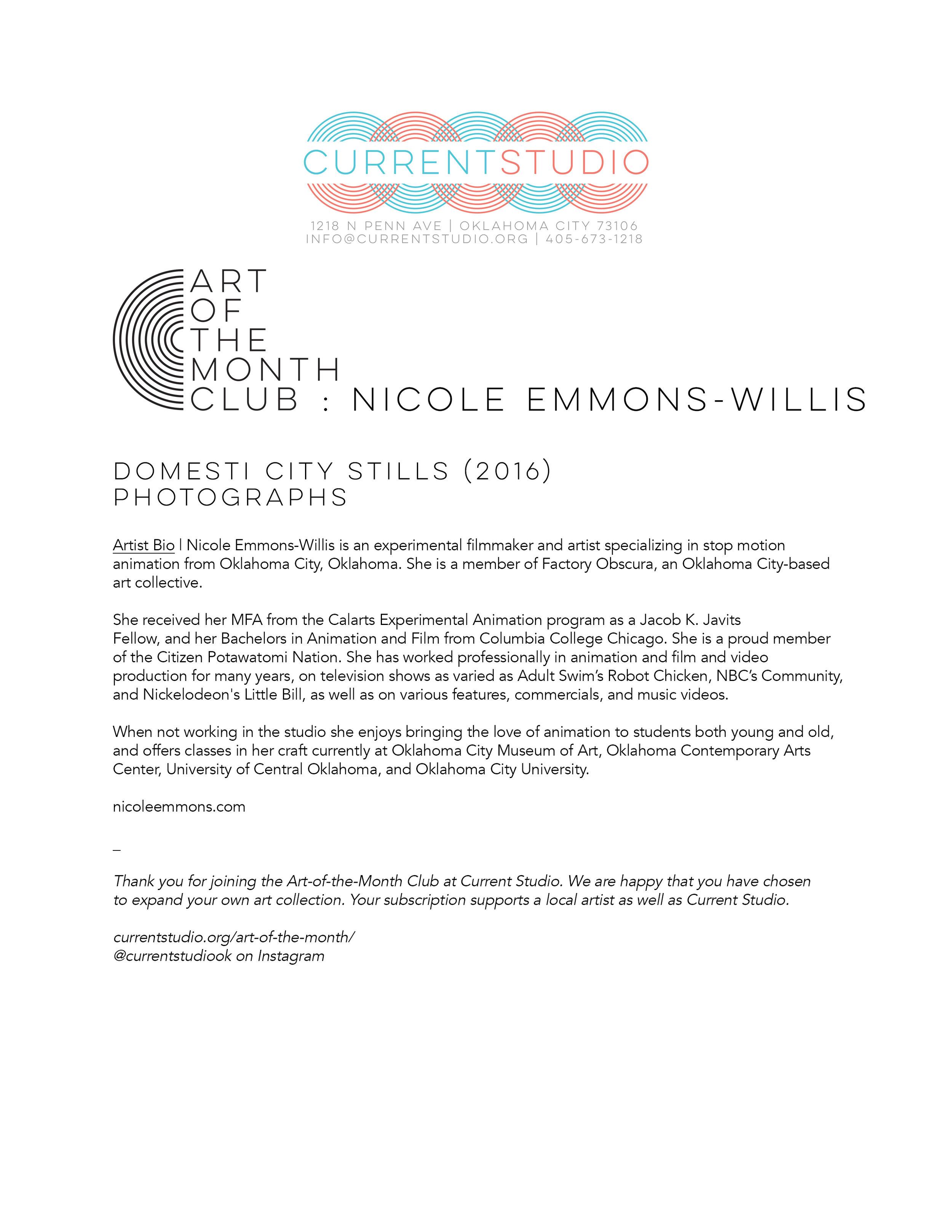 art of the month artist sheet - nicole emmons willis.jpg