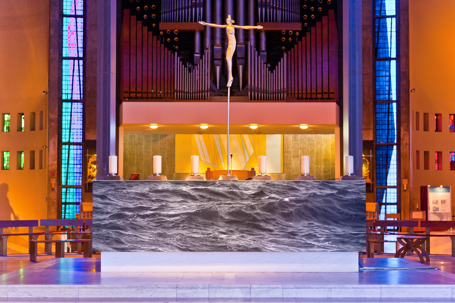 Two Seas : High Water, High Altar of the Metropolitan Cathedral