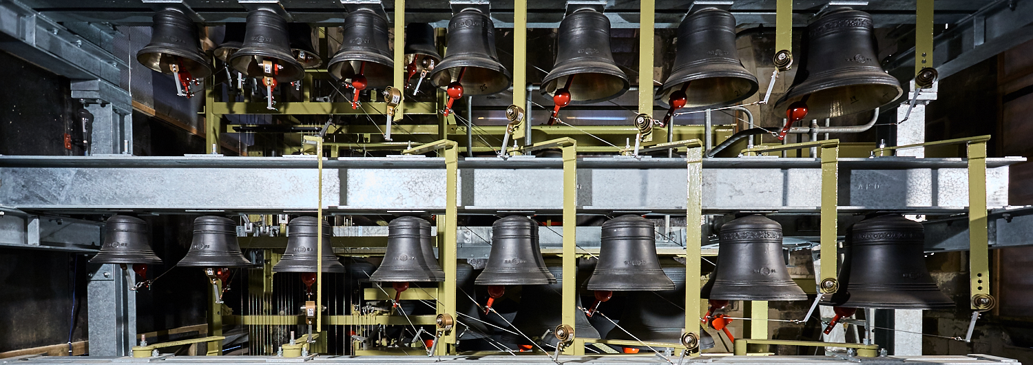 York Minster Carillon from the book  The Bells and Bellringers of York Minster