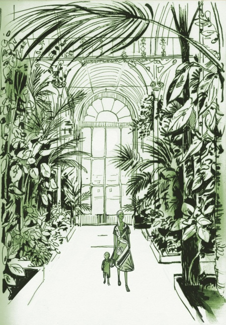 photo: London Sketchbook (Jason Brooks) - Kew Gardens