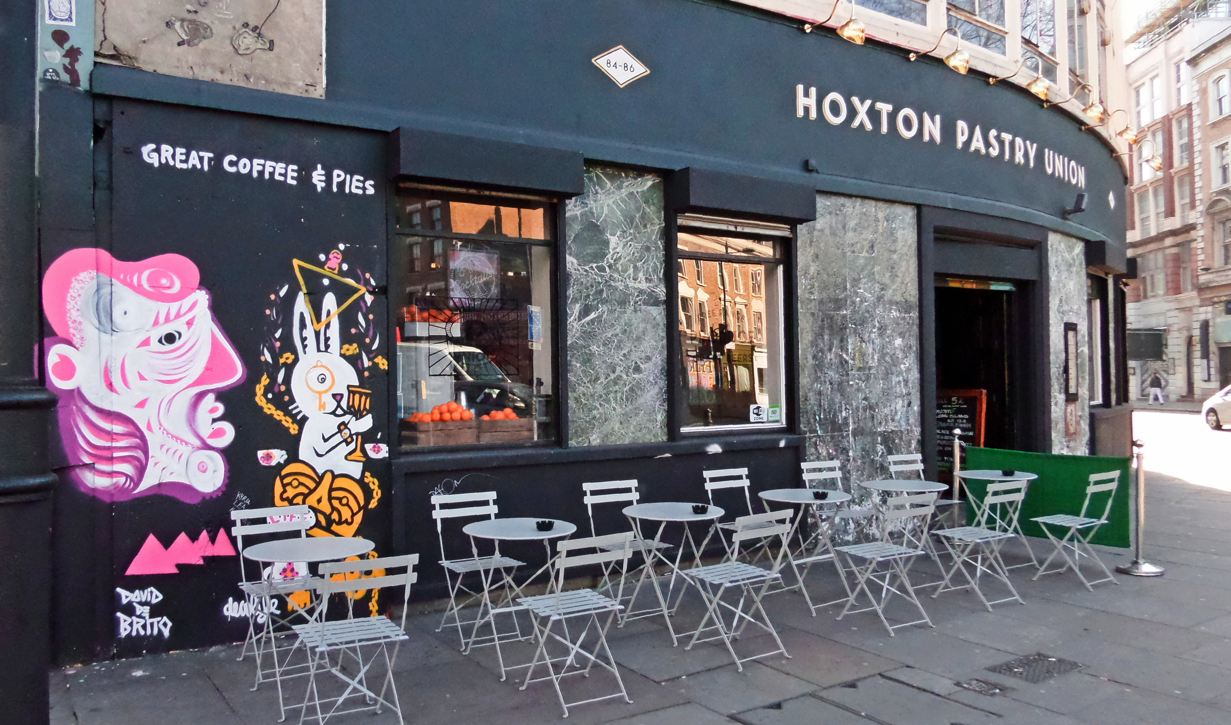Hoxton Pastry Union on Old Street/Great Eastern Street