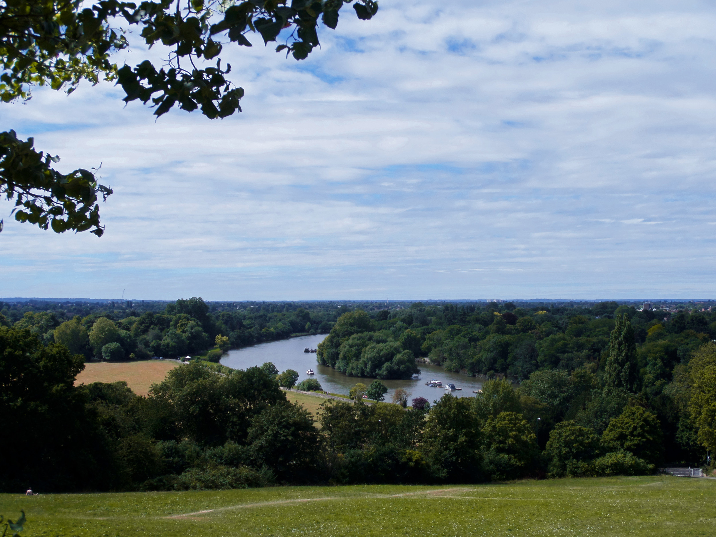 Turner's view in Richmond (own photo)