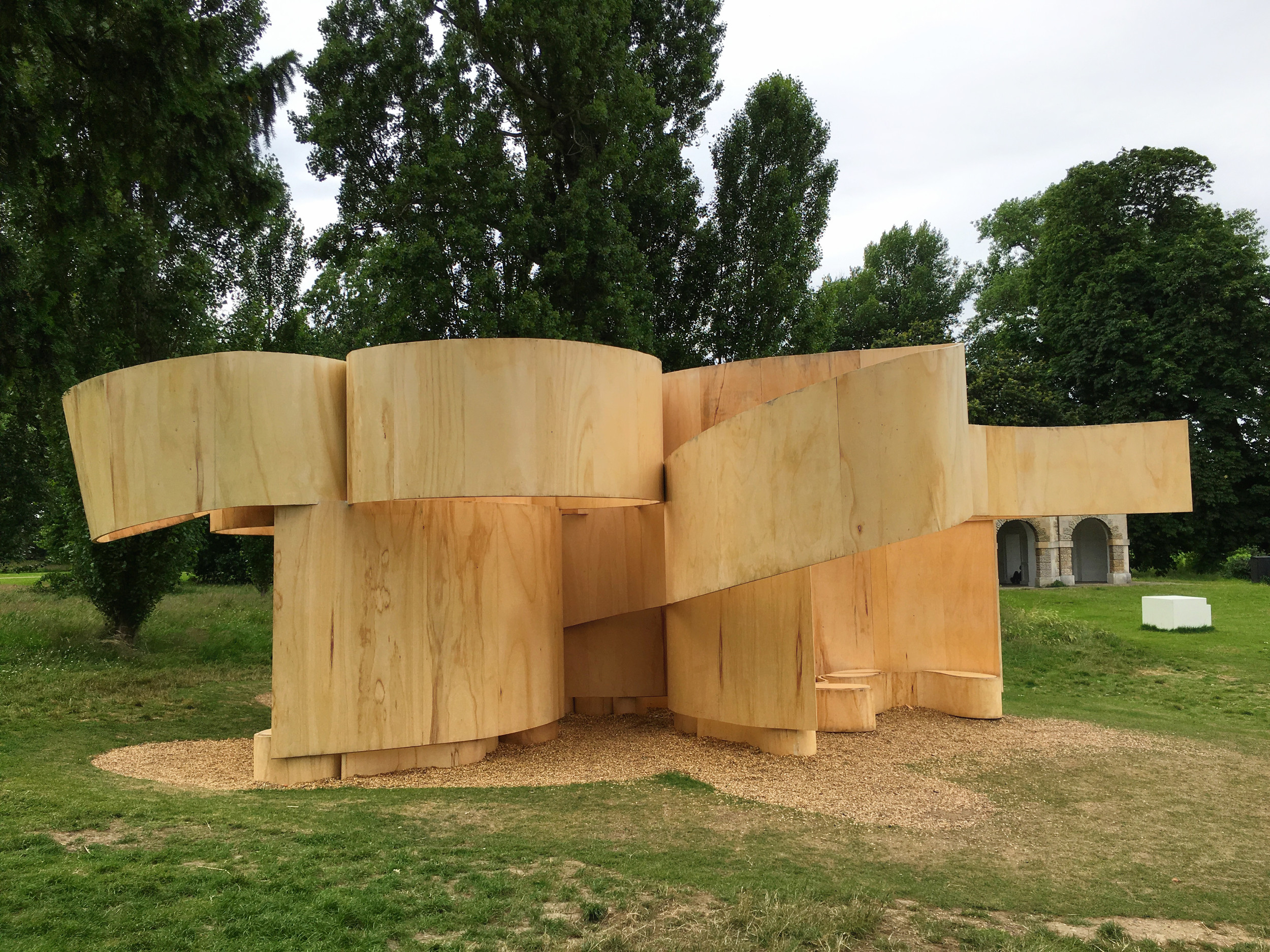 Serpentine Summer House 2016 by Barkow Leibinger  (own photo)