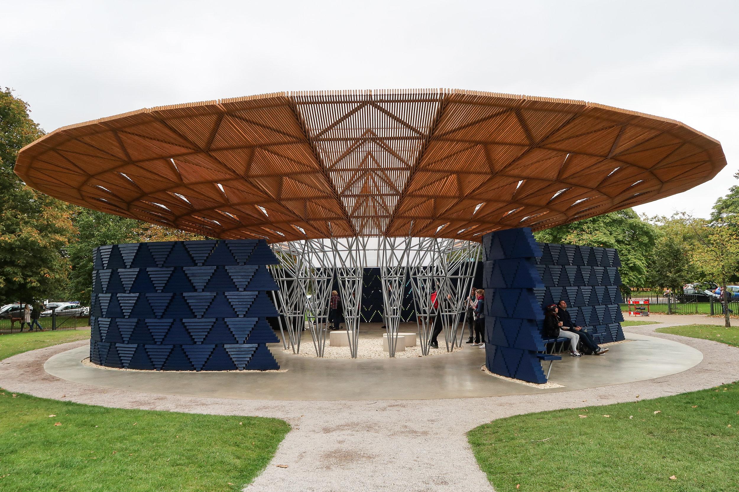 Serpentine Pavilion 2017 by Francis Kéré