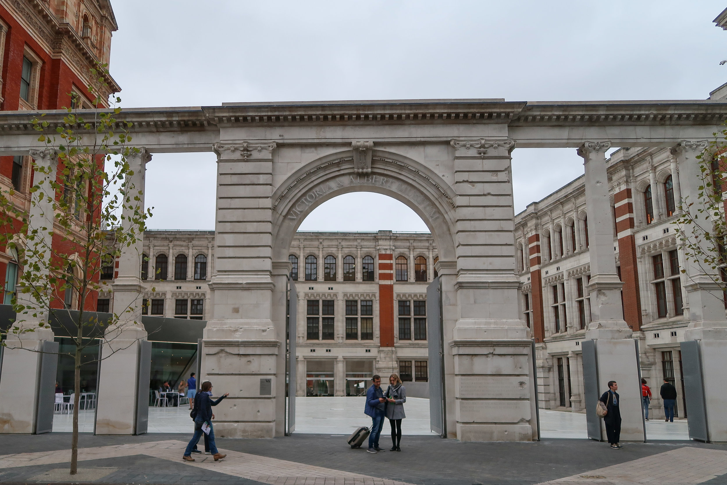 own photo - Exhibition Road entrance