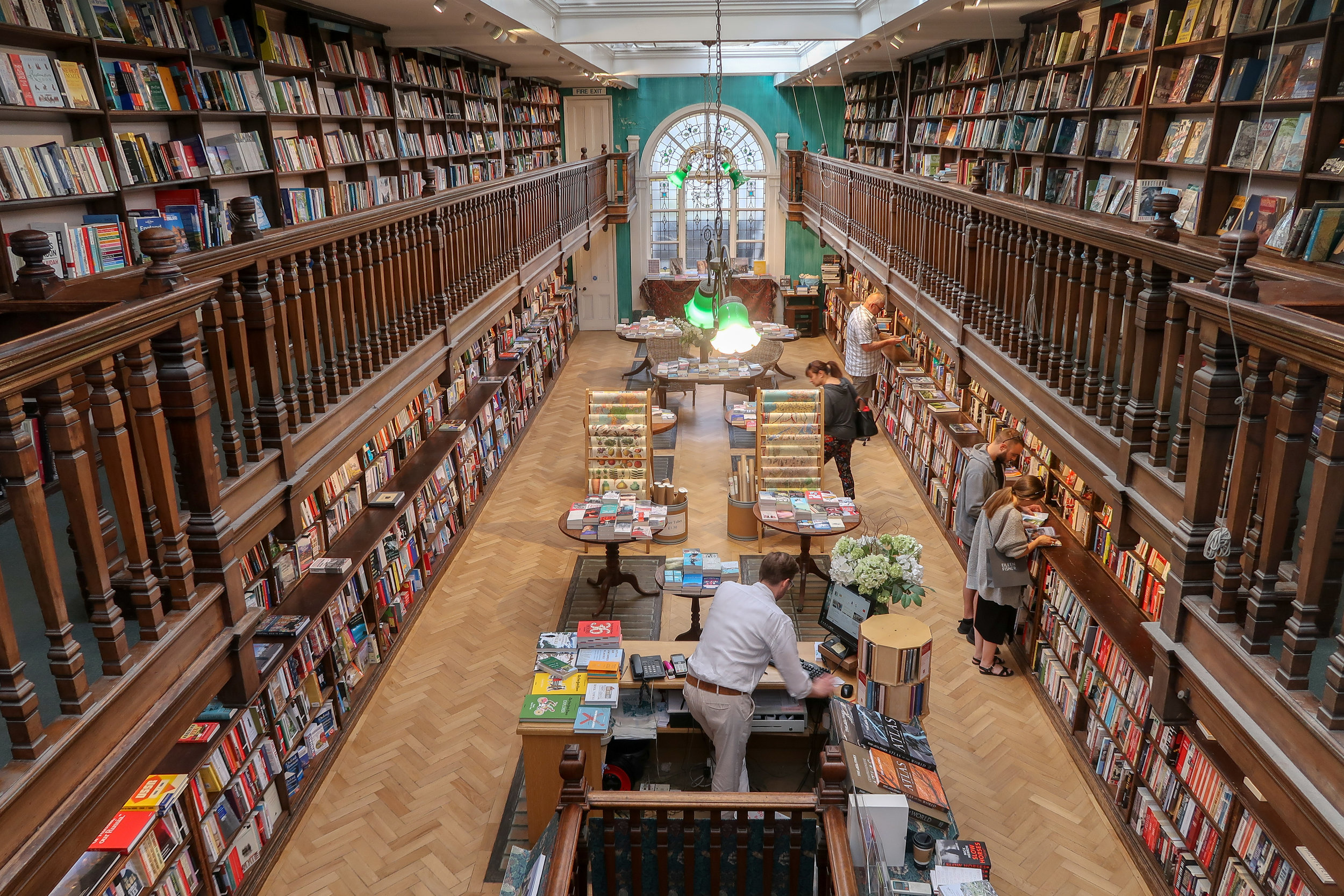 Daunt Books Marylebone - own photo