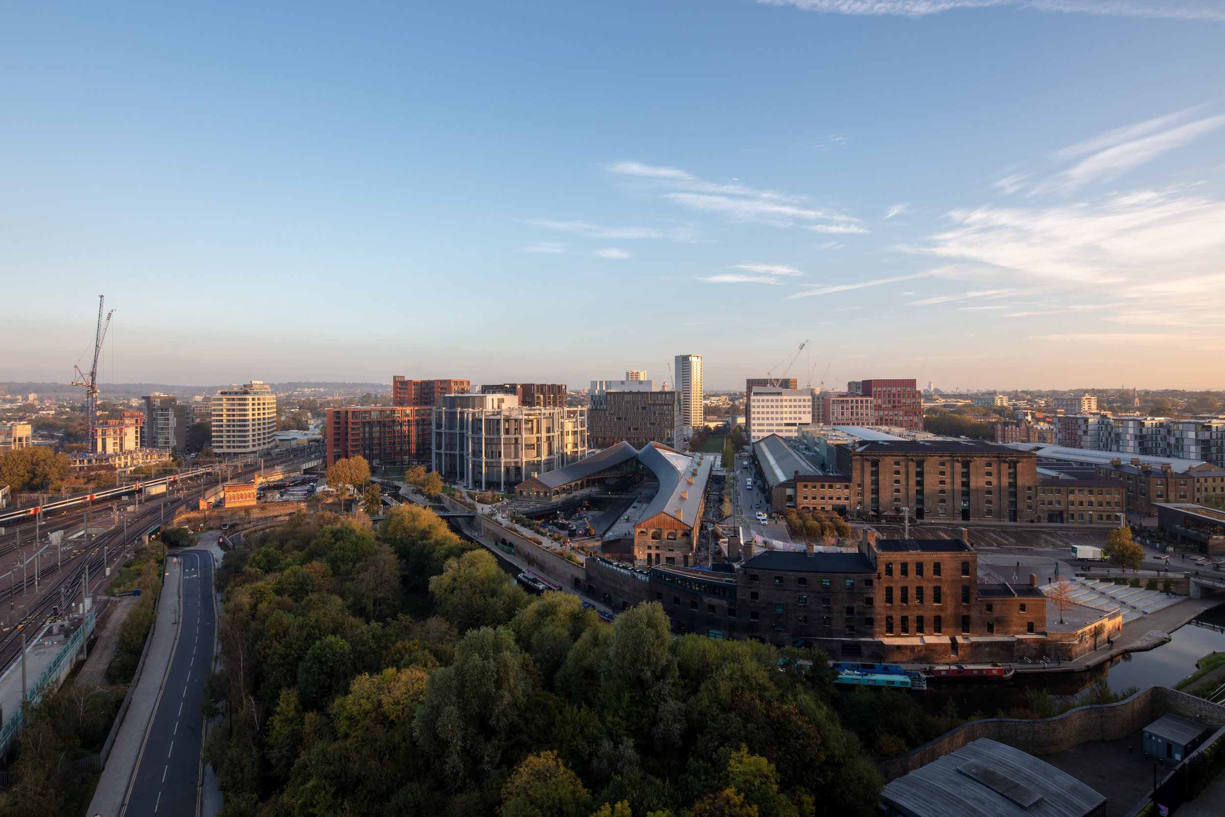 Coal Drops Yard from above, photo: Luke Hayes