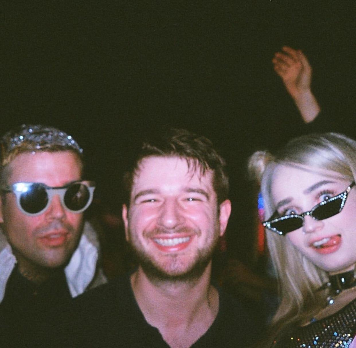 Jesse Saint John (left), Alex Chapman (center), Kim Petras (right)