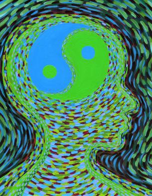 yin yan brain wellbeing