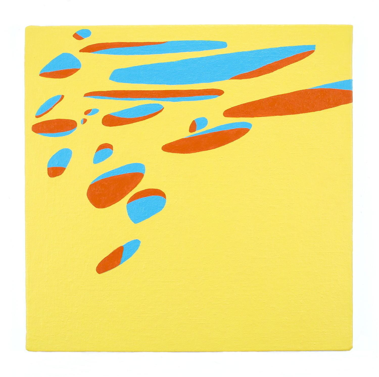 """'Egot' oil on linen over panel 18 x 18"""""""