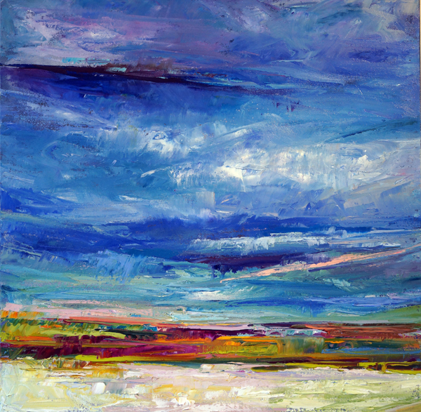 Cranberry Skies, 24x24, Oil, Sold