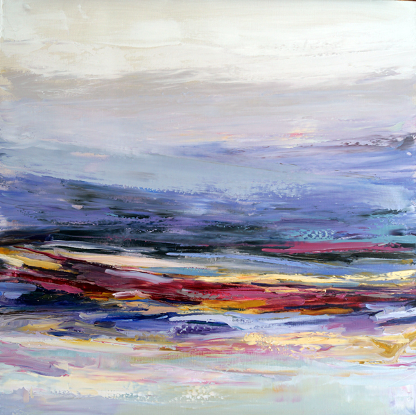 Rainbow Sweet, 30x30, Oil, Sold