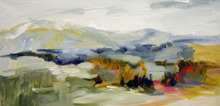 Hundred Acres, 12x24, Oil, Sold