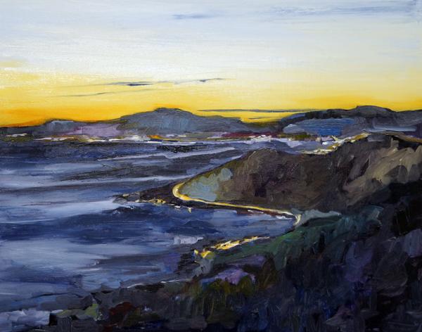 Ventura Sea, 24x30, Oil, Sold