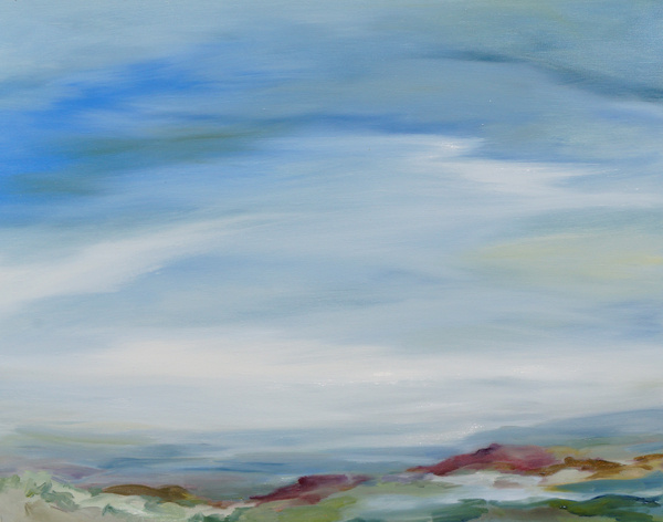Summer Haze I, 24x30, Oil, Sold