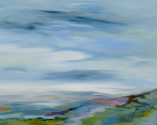 Summer Haze II, 24x30, Oil, Sold
