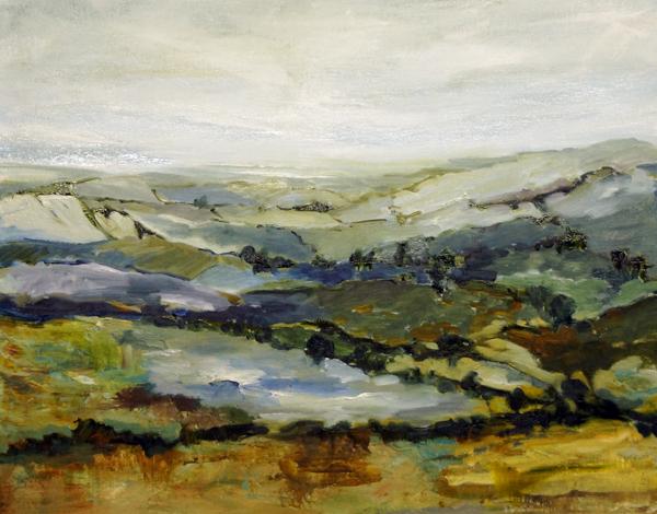 Landscape Love Song V, 24x30, Oil, Sold