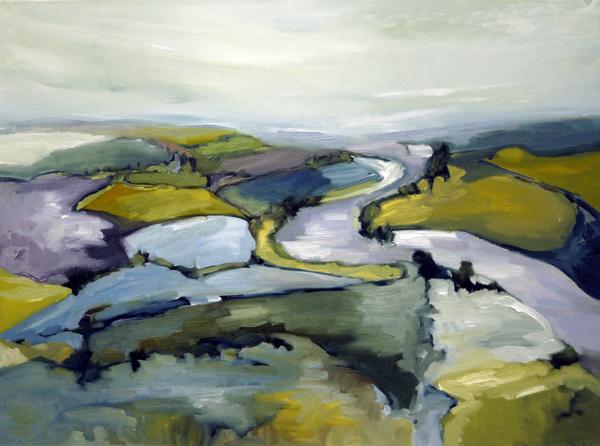 Landscape Love Song II, 18x24, Oil, Sold