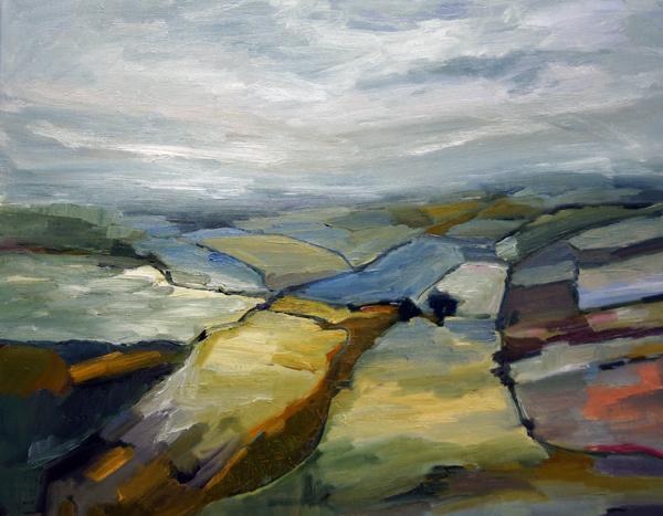 Landscape Love Song 9, 24x30, Oil, Sold