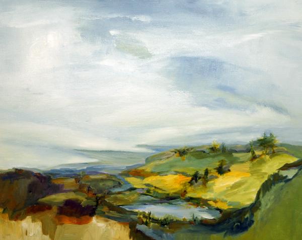 Grand Lake, 24x30, Oil, Sold